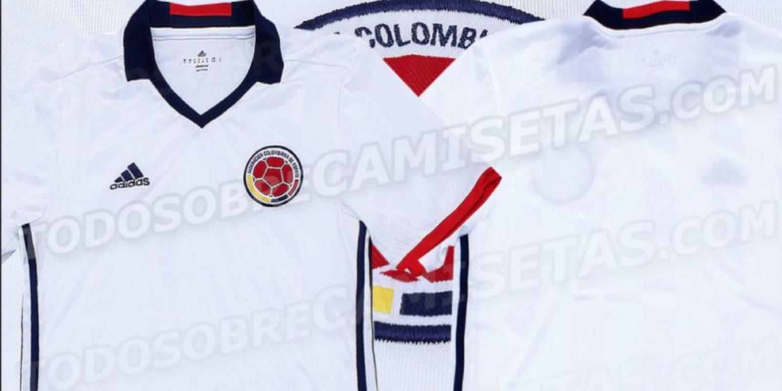 d80edb552 Ya hay fotos de la camiseta blanca de Colombia para 2016 ...