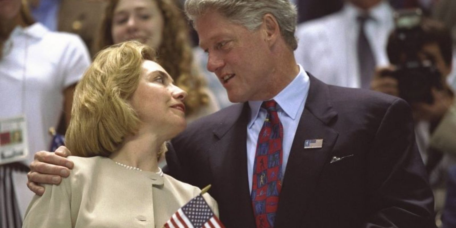 1. Bill Clinton Foto: Getty Images