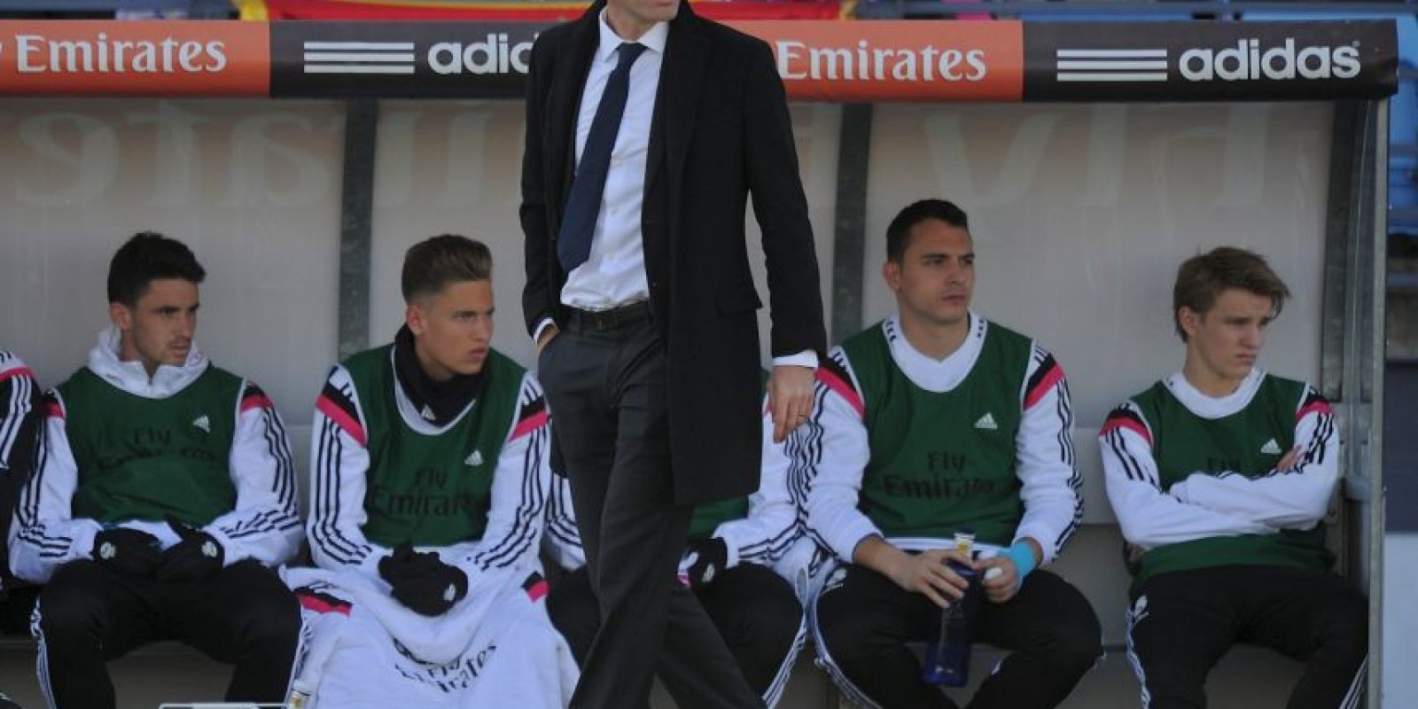 """""""Tenemos al mejor club del mundo y la mejor afición del mundo"""": Zidane Foto:Getty Images"""
