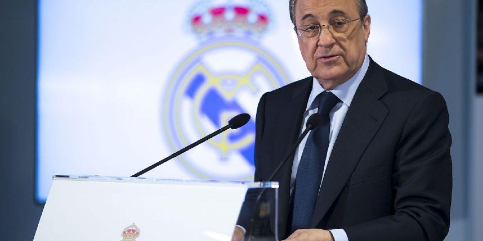 """""""Sabe hacer frente a los desafíos con talento"""": Florentino Pérez, presidente del Real Madrid Foto:Vía twitter.com/realmadrid"""