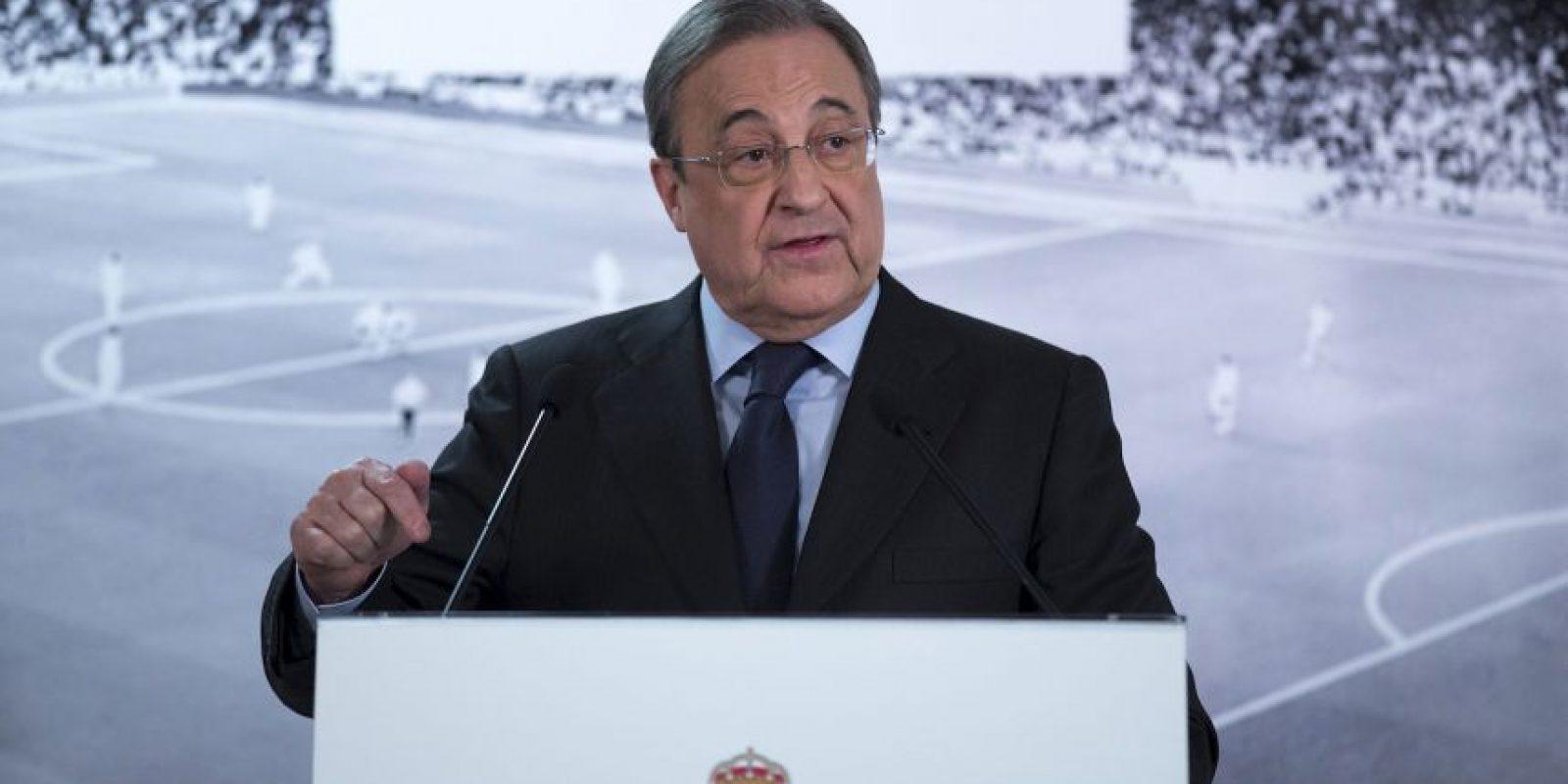 Florentino Pérez, presidente del Real Madrid Foto:Vía twitter.com/realmadrid