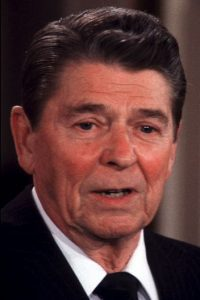 3. Ronald Reagan Foto: Getty Images