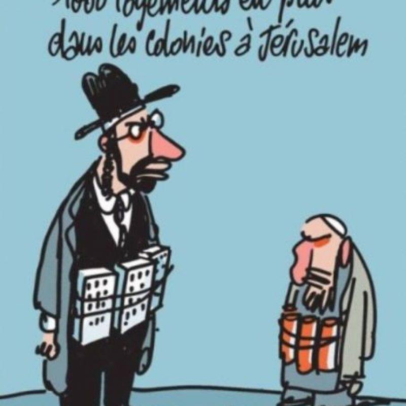 Y no se olvidaban de los judios Foto:Charlie Hebdo