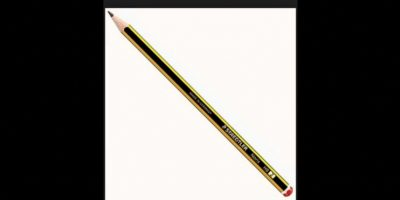 3. Un lápiz mide 16 cms (6 pulgadas) Foto:Wikimedia