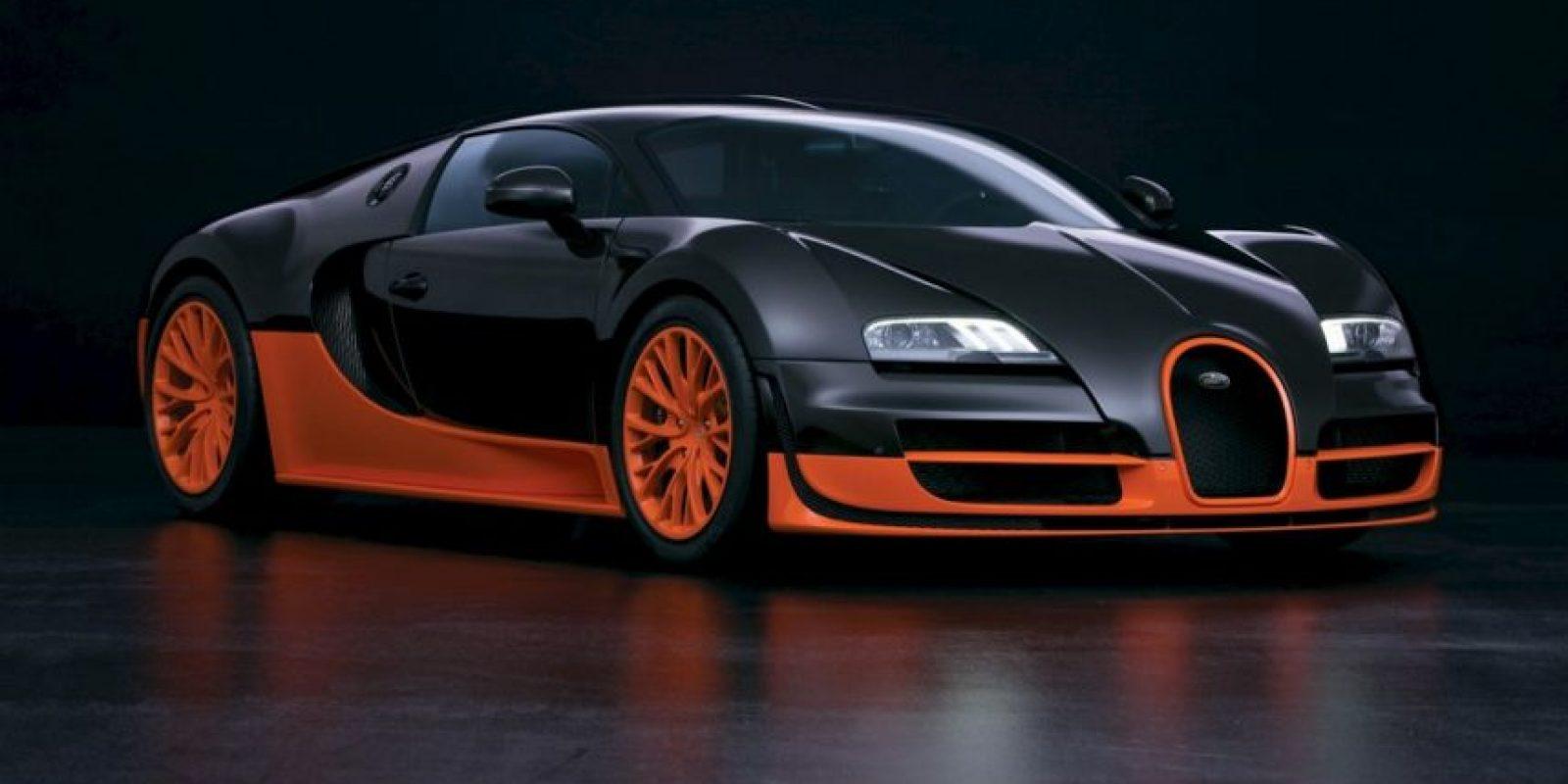 2- Bugatti Veyron Super Sport. Foto:vía bugatti.com