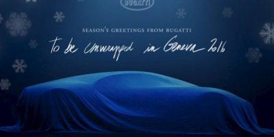 Bugatti Chiron será el automóvil más rápido del mundo. Foto:vía twitter.com/Bugatti