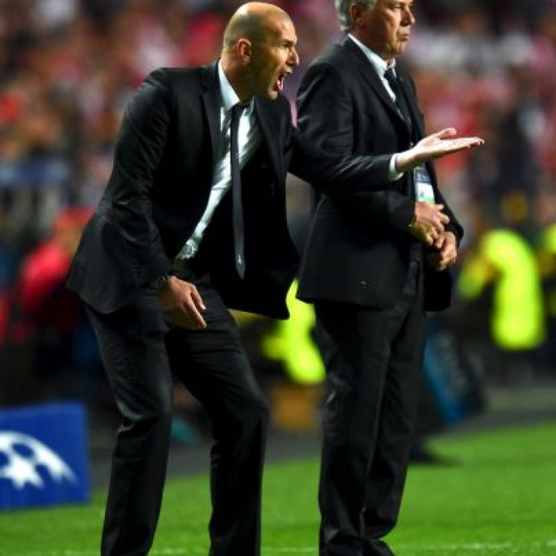 Es el turno de Zinedine Zidane Foto: Getty Images