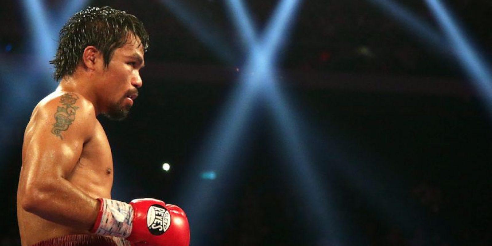 Hasta la fecha, lleva 65 combates como profesional: 57 victorias (38 por nocaut), y seis derrotas (tres por nocaut). Foto:Getty Images
