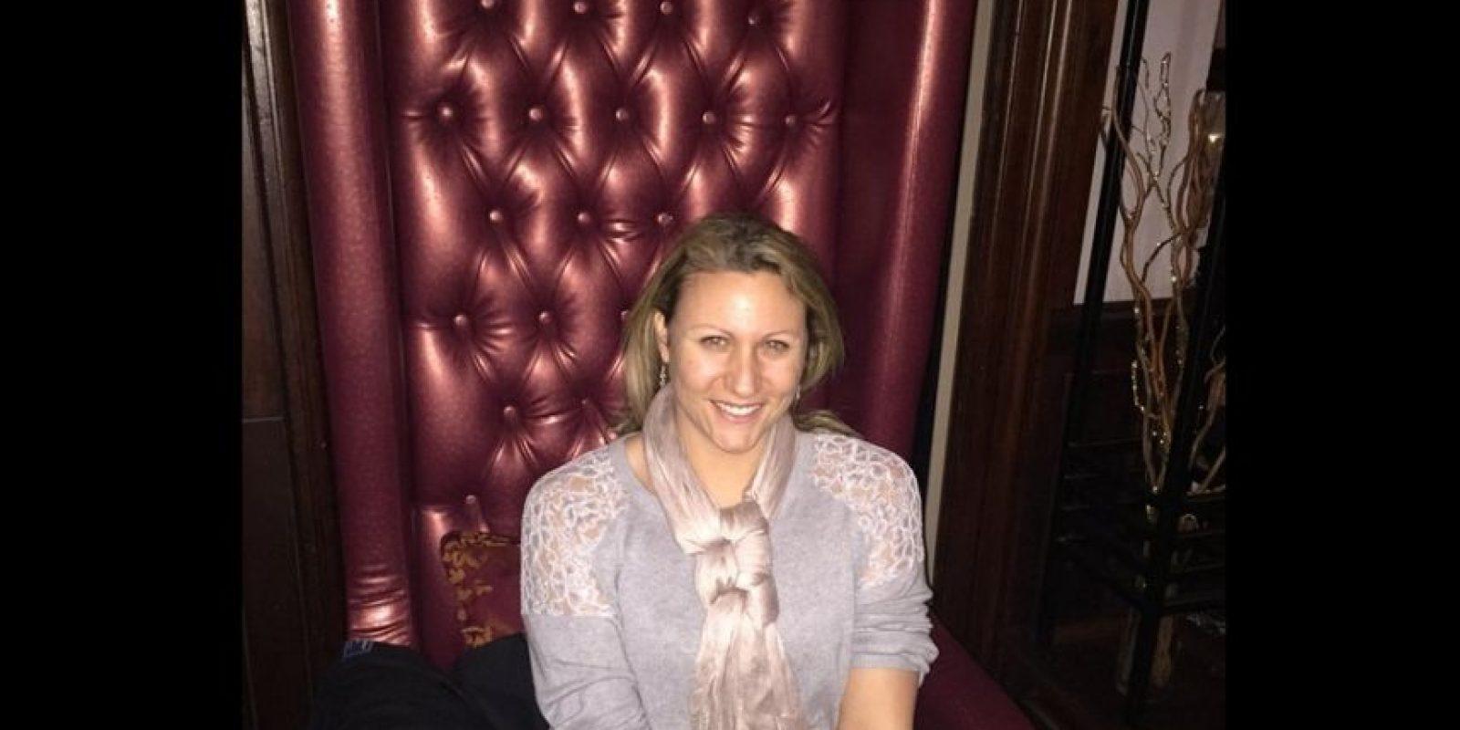 Ella es Charlotte Rose, la trabajadora sexual que ayudará con la tarea. Foto:Vía Twitter