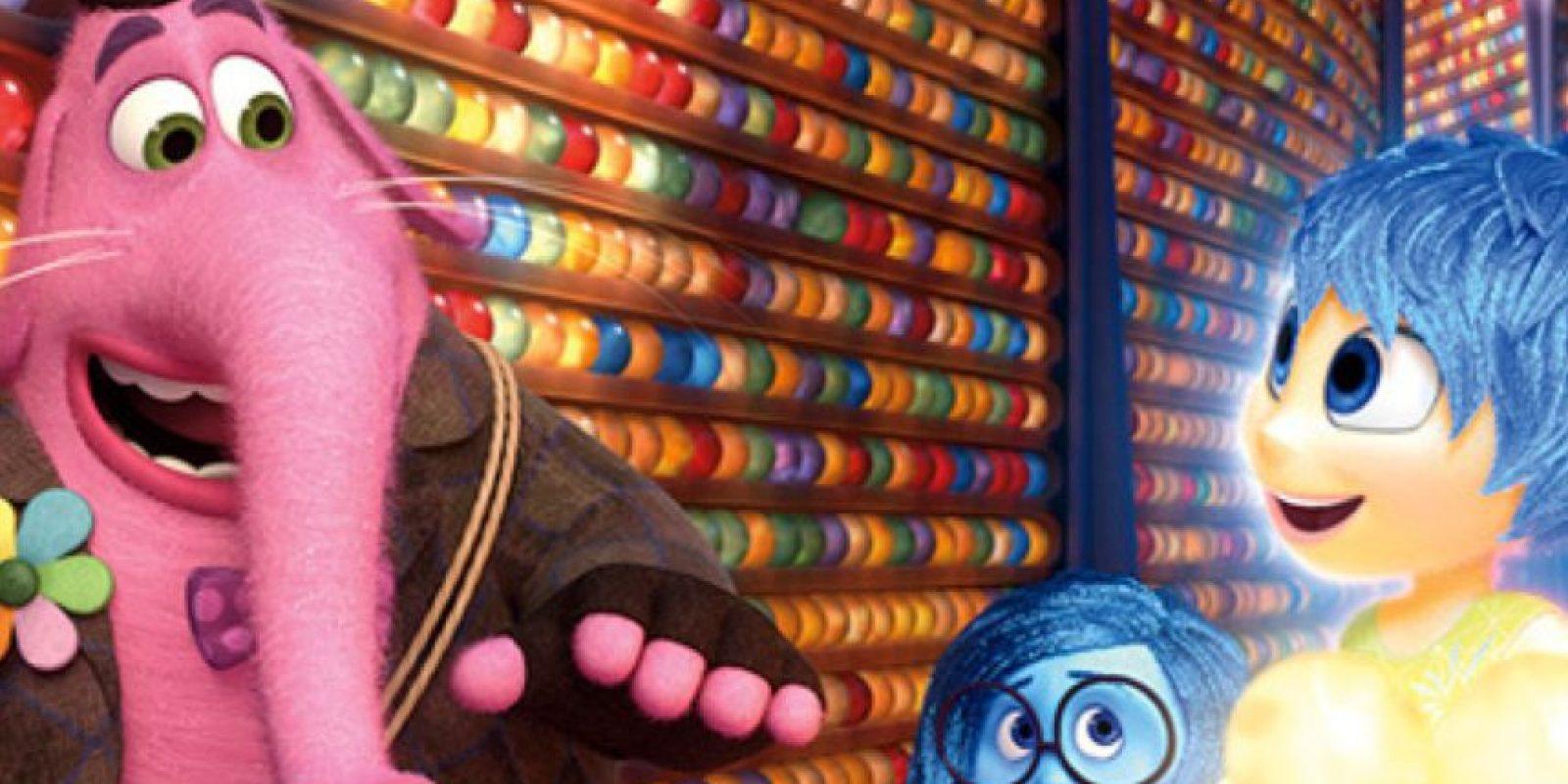 """Aparte de """"Bing- Bong"""" se habían creado otros amigos imaginarios. Foto:vía Pixar"""