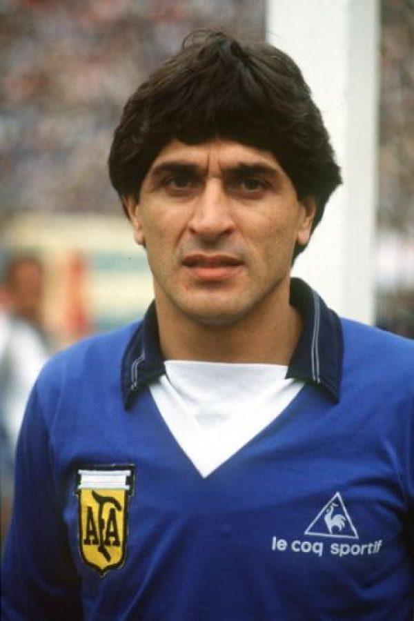 Ganó el Mundial de 1978 con Argentina y militó en equipos como River Plate y Atlético de Madrid. Foto:Getty Images