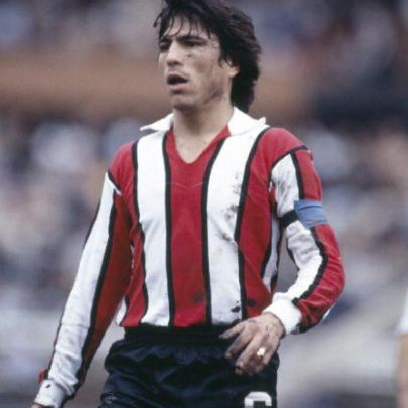 Disputó los Mundiales de 1978 (Campeón), 1982 y 1986 (Campeón, aunque no jugó ningún partido). Jugó en River Plate, Fiorentina e Inter de Milán, principalmente. Foto:Getty Images