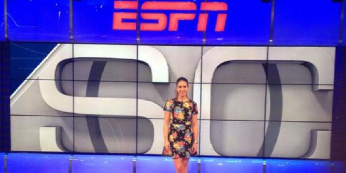 Fotos: Clara Támara se va de ESPN y regresa a Colombia definitivamente