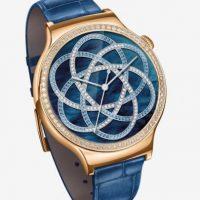 2- Huawei Watch Jewel con correa Ruby Blue. Foto:Huawei