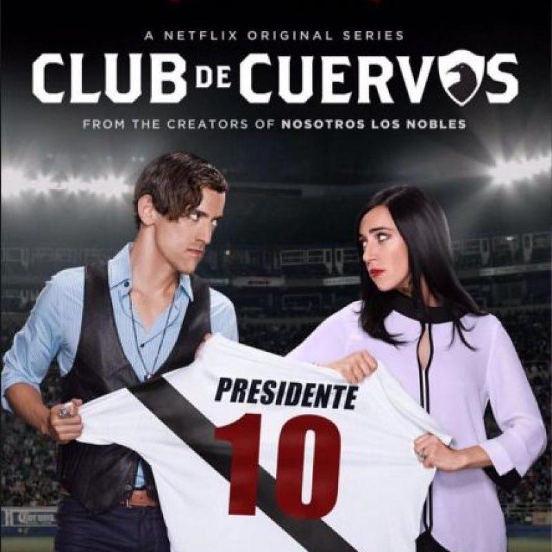 4- Club de Cuervos (Una temporada).