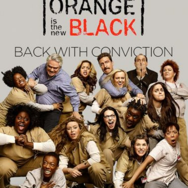3- Orange Is The New Black (Tres temporadas).