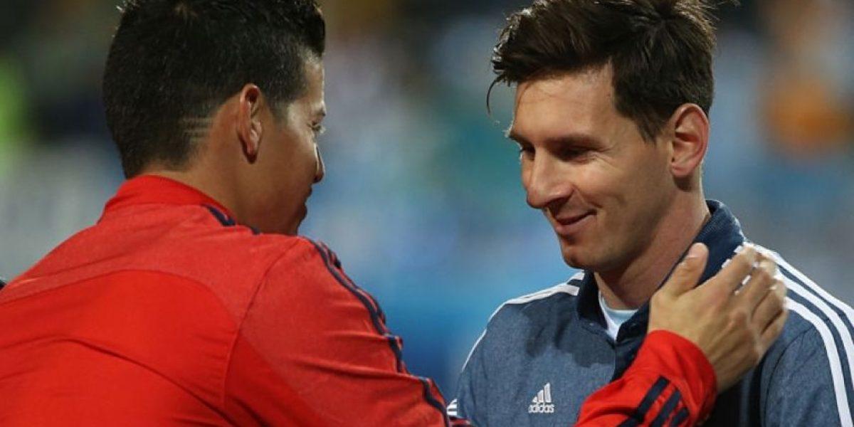 James reemplazaría a Messi en la portada del FIFA 17