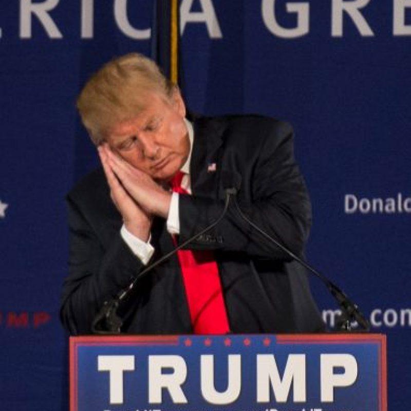 Donald Trump es el más polémico de todos Foto:Getty Images