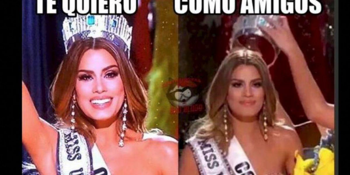 Miss Universo se niega a compartir la corona con Miss Colombia
