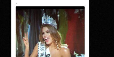 Algo jamás visto en la historia de Miss Universo. Foto:vía Twitter