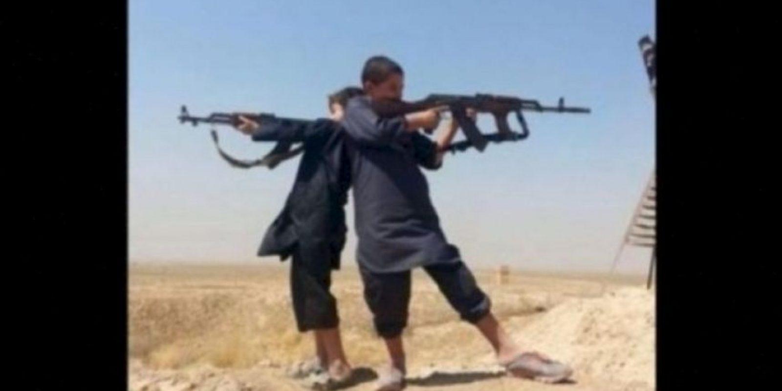 """""""Reclutar o alistar a los menores de 15 años es un crimen de guerra"""", de acuerdo a un informe de la Organización de las Naciones Unidas (ONU), publicado en agosto pasado. Foto:Twitter.com – Archivo"""