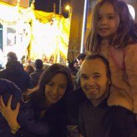 Andrés Iniesta en la cabalgata de los Reyes Magos Foto:Vía instagram.com/andresiniesta8