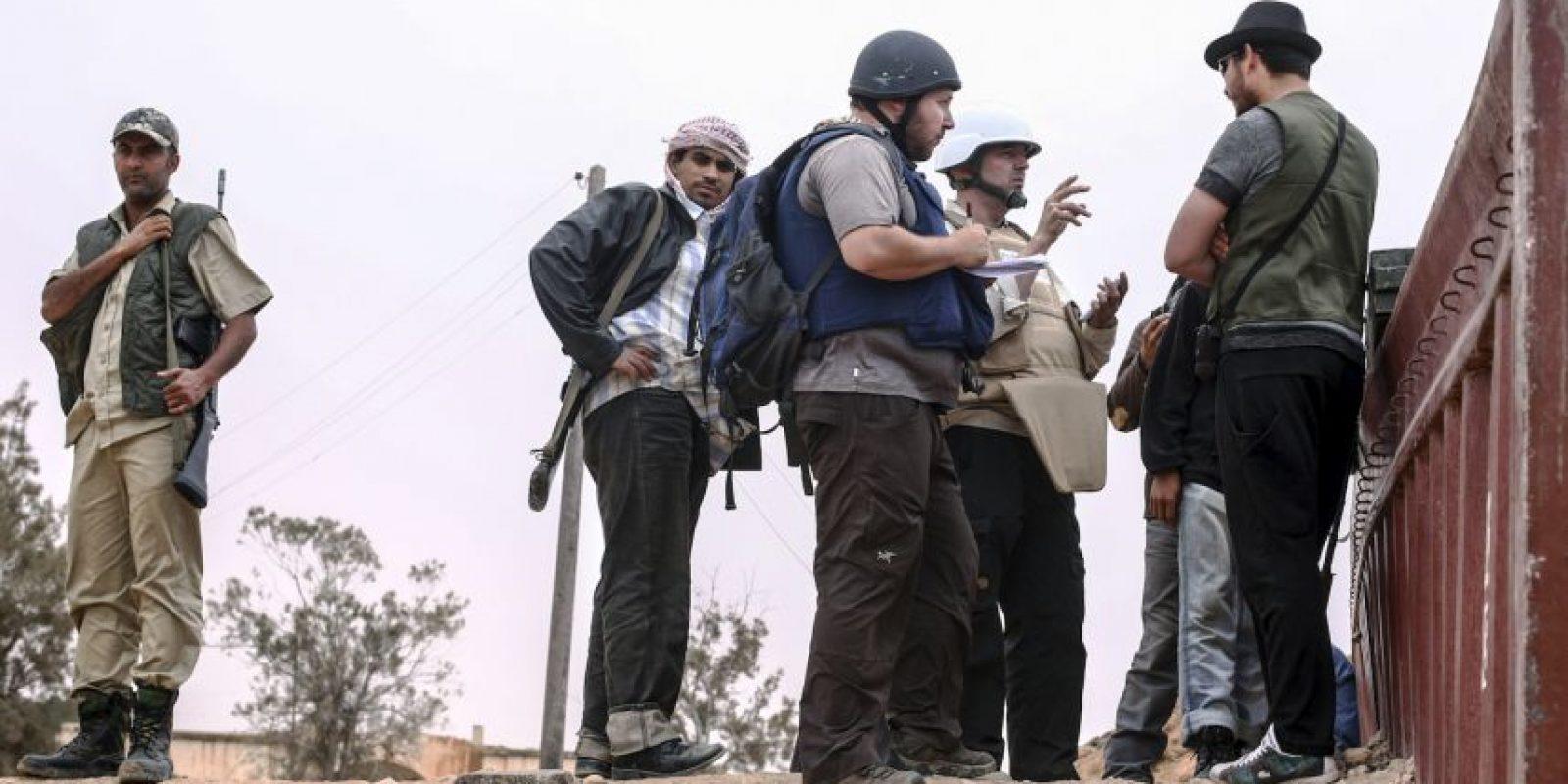 Fue decapitado en septiembre de 2014 Foto:AFP