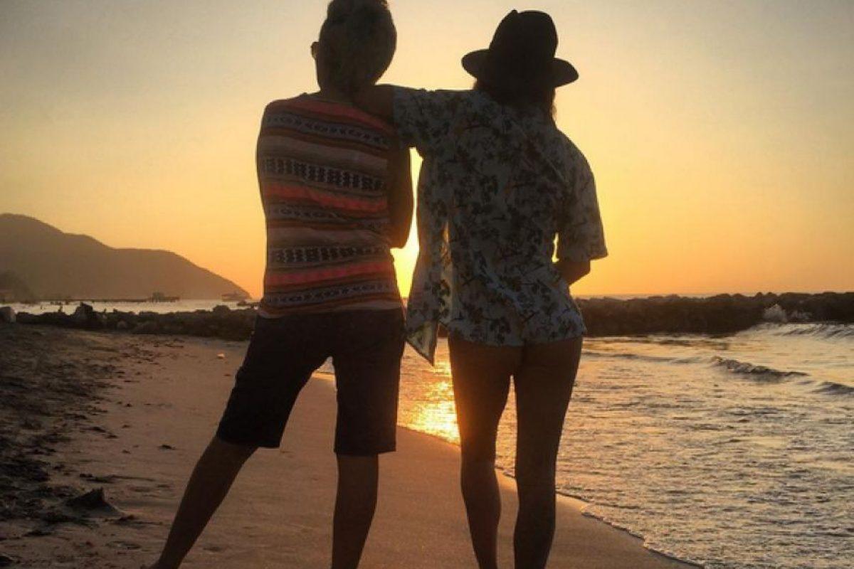 Juntas en las playas colombianas Foto:Instagram Valentina Lizcano