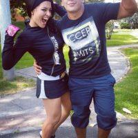 Vanesa con Camilo Peña. Foto:Instagram Camilo Peña @camilobox22