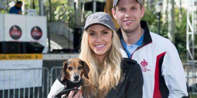 Se casó con la estrella de televisión Lara Yunaska. Foto:Getty Images