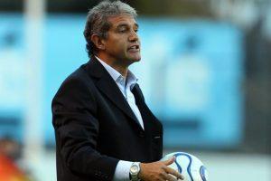 El ex seleccionado argentino campeón del mundo en México 1986 es el actual DT de Atlético Rafaela Foto:Getty Images
