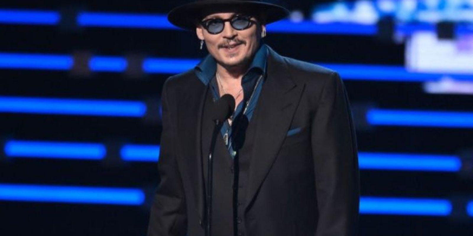 Johnny Depp también sigue estando vigente. Foto:vía Getty Images