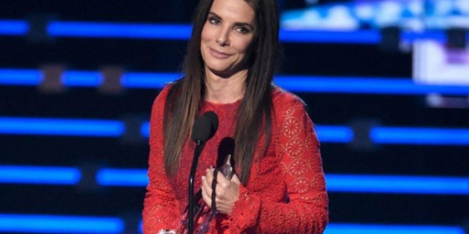Así como Sandra Bullock. Foto:vía Getty Images