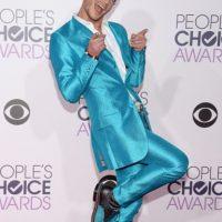 """Frankie Grande, como """"La Máscara"""", pero en azul. Foto:vía Getty Images"""