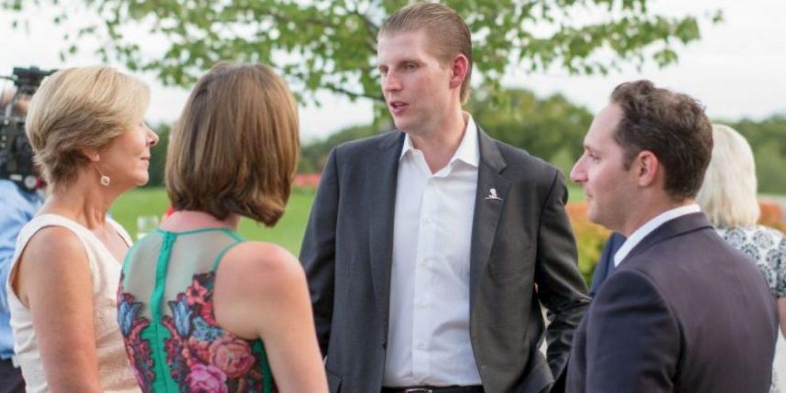 Es dueño de la bodega Trump, el viñedo más grande de Virginia. Foto:Getty Images