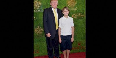 Tiene un piso entero en la Torre Trump para él. Foto:Getty Images