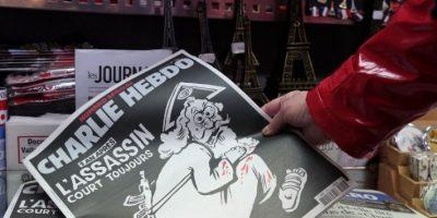 Otro de los hechos recordados fue primer aniversario del ataque contra el semanario Charlie Hebdo Foto:AFP