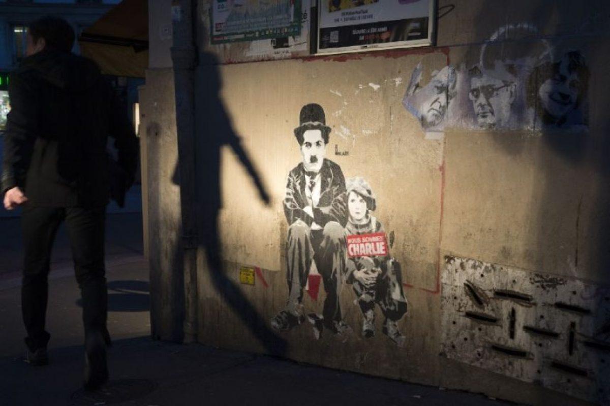 El atentado marco a los franceses, con la muerte de 17 personas. Foto:AFP