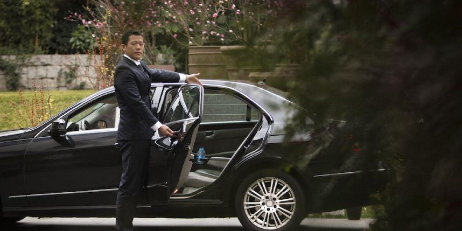 Pueden pedir su Uber desde donde estén y esperar con seguridad a que llegue el auto. Foto:Uber
