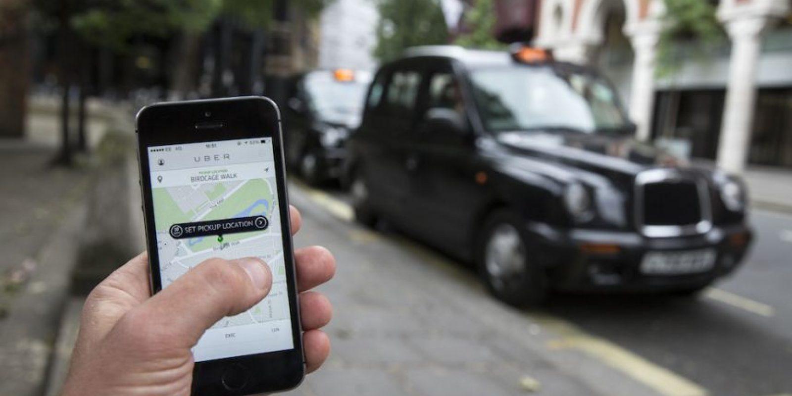 la tecnología de Uber les permite contactar al socio-conductor sin proporcionar información personal y viceversa. Foto:Getty Images