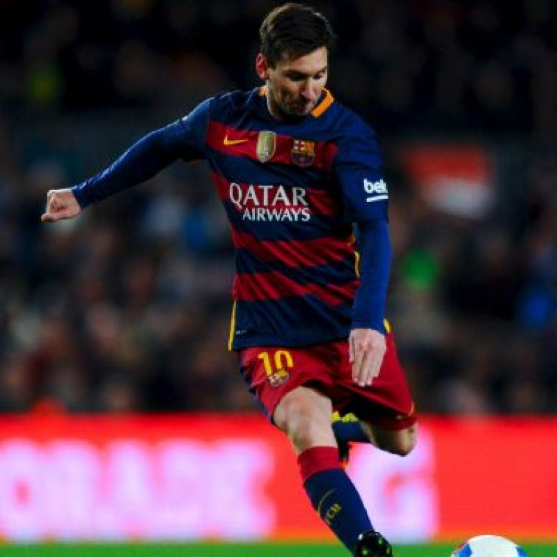 El argentino es el líder indiscutible del Barcelona y el principal candidato a ganar el Balón de Oro 2015. Foto:Getty Images