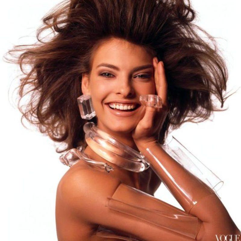 Fue una de las pocas supermodelos en cambiar el rostro de la moda en los años 80. Foto:vía Vogue