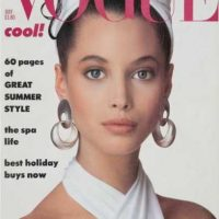 3. Christy Turlington. Foto: vía Vogue