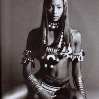 """También apareció en el libro """"Sex"""", de Madonna. Foto:vía Vogue"""