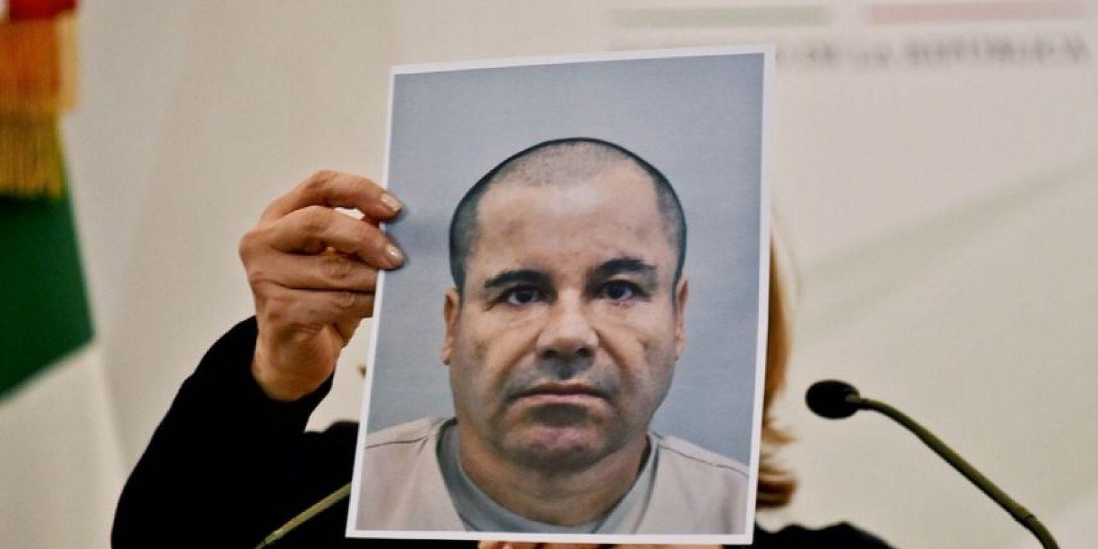 """Joaquín """"El Chapo"""" Guzmán fue capturado en Sinaloa, estado norte de México. Foto:AP"""