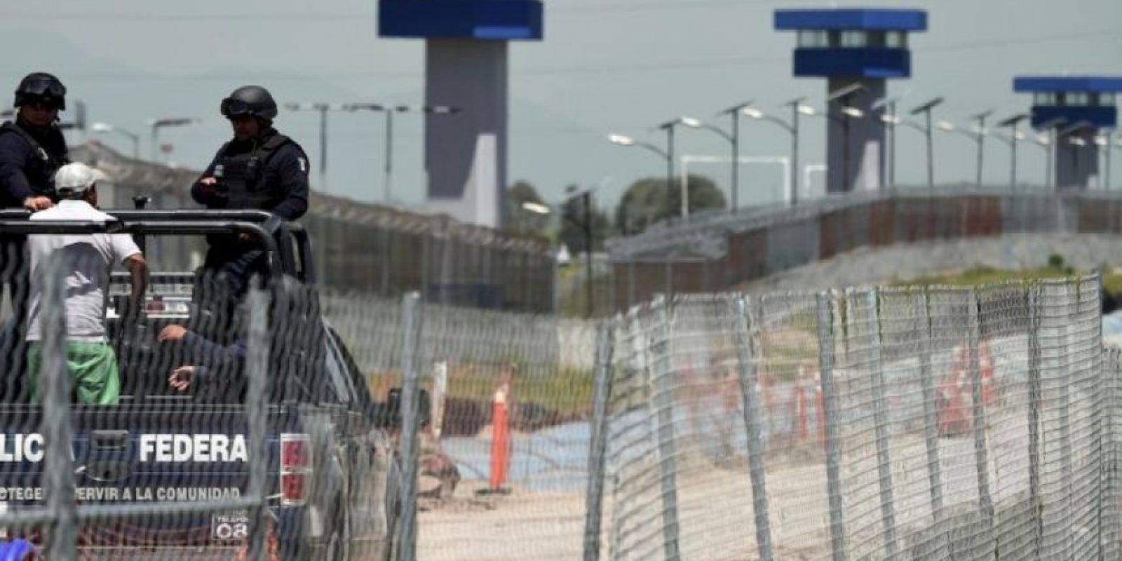 Su último escape fue por un túnel subterraneo. Foto:AFP