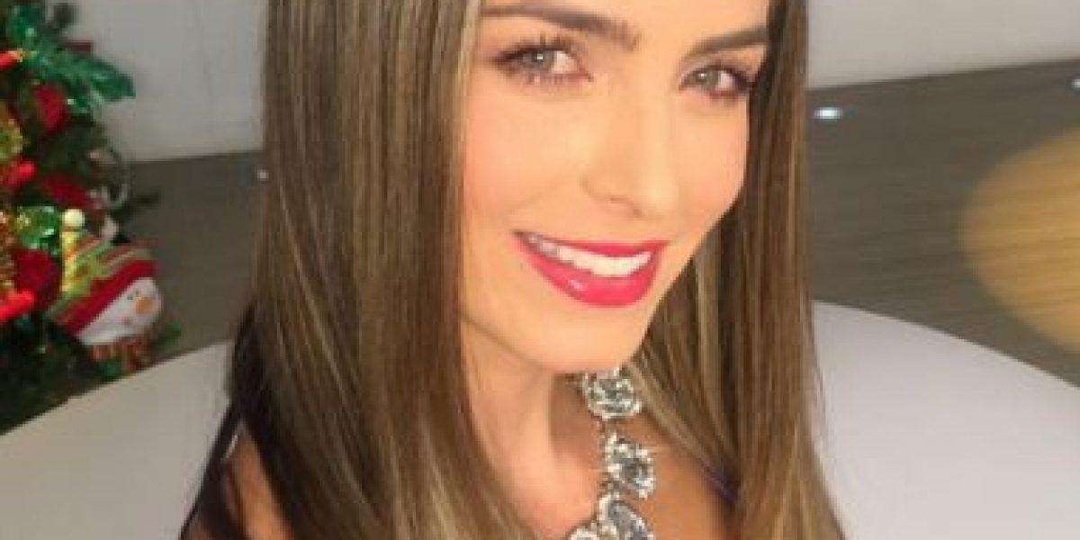 Cristina Hurtado luce su rostro sin maquillaje
