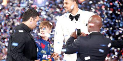 Bieber es amigo de varios basquetbolistas. Foto:Getty Images