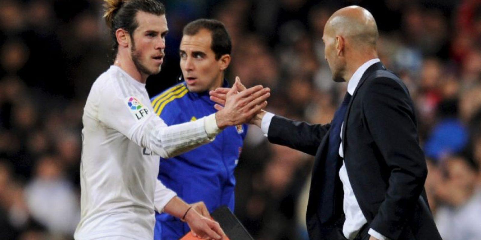 """Y Gareth Bale, un hat-trick, para darle la bienvenida a """"Zizou"""". Foto:Getty Images"""