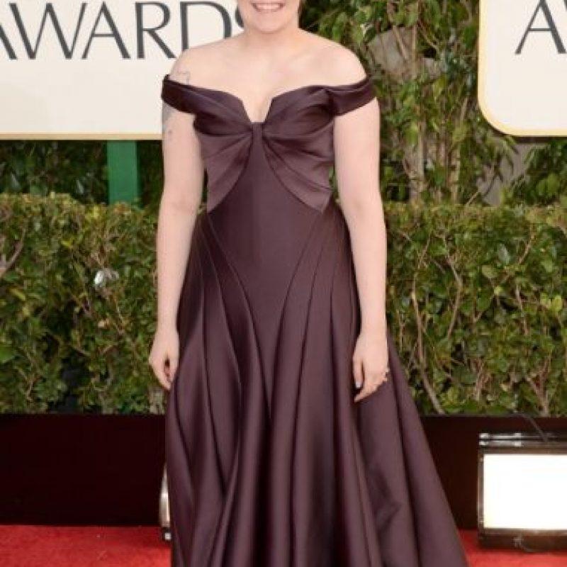 Y volvió a hacerlo con otro Zac Posen para 2013. Pero comparado con el desastre de vestido que llevó para los Emmy, todo se vale. Foto:Getty Images